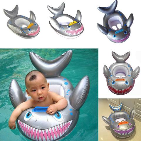 Inflatable Shark Float for Babies