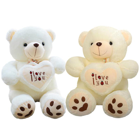 I love you Valentines Day Heart Bear Stuffed Animal
