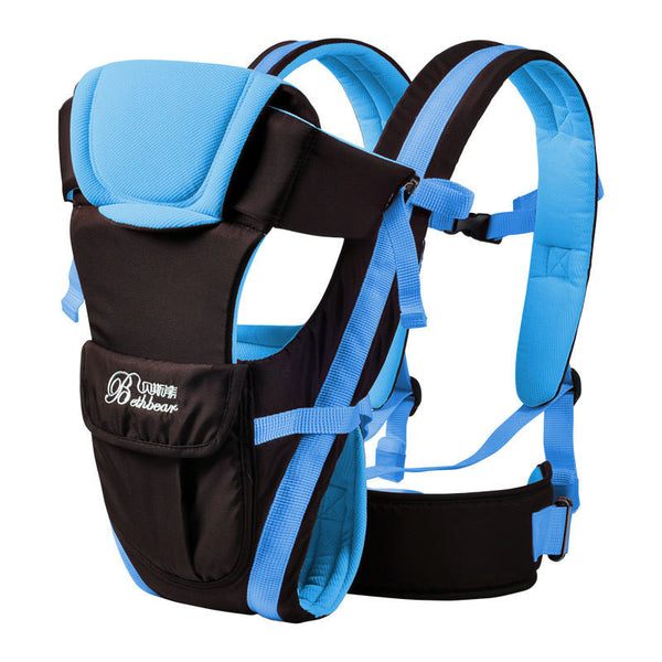 KLUVZZ ergonomic baby carrier safe durable 0-30 months Front Facing multifunctional