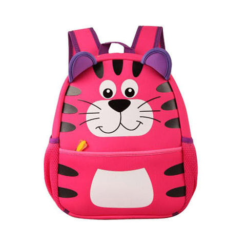 Cartoon Tiger Toddler Backpack