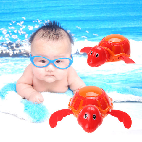 Cute Swimming Turtle Toy Baby Bath