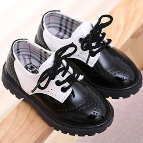 Cute Chaussure Leather Boots