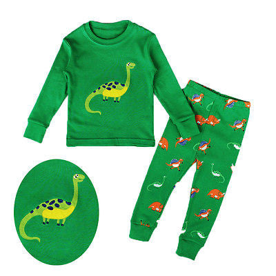 Dinosaur Cartoon  Pajamas