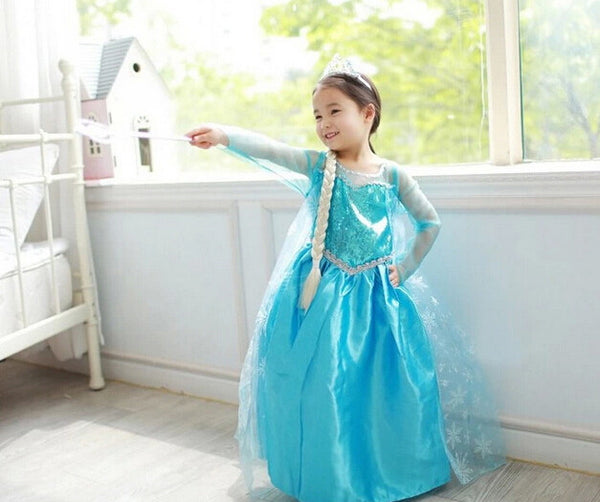 Snow Queen Christmas Toddler Dress