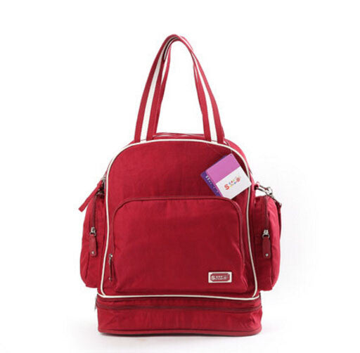 Red Maternity Nappy Bag