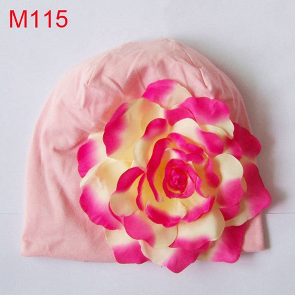 Soft & Beautiful! Flower Beanie