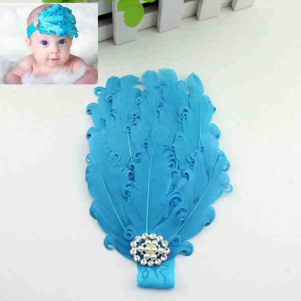 Feather Floral Headwear