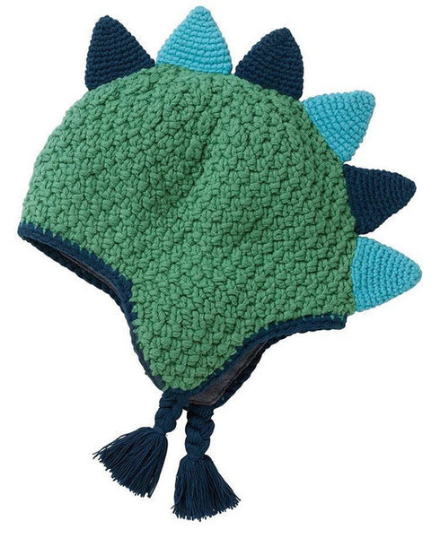 Creative Hand-Made! Dinosaur Knitted Hat