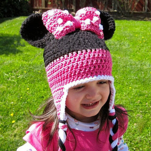 Stylish Hand-Crafted! Crochet Knitted Beanie