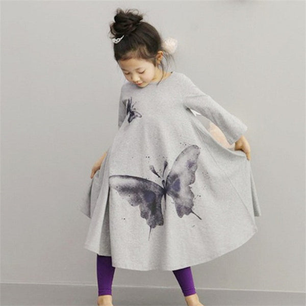Fashionable Adorable! Butterfly Print Outfit