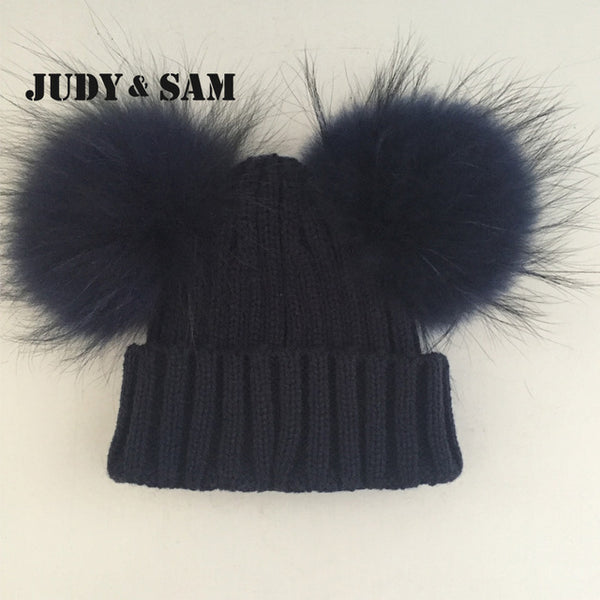 Winter  Wool Blend Hat for Kids