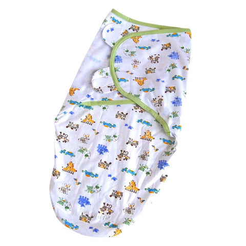 0-6M Baby Swaddle Blanket Wrap