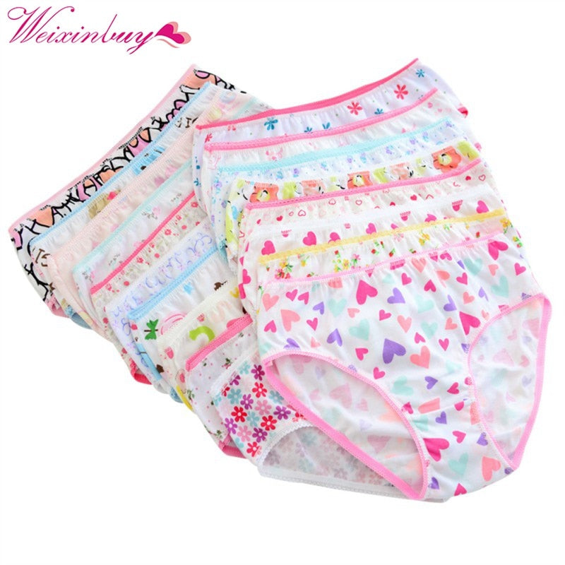Soft & Printed! Girls Cotton Panties