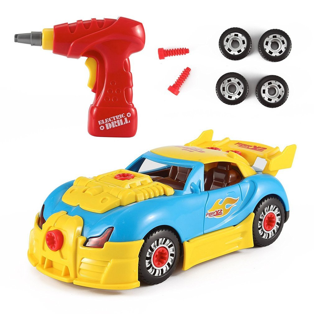 STEM Formula World Racing Car Take-A-Part Toy Includes Tool Drill