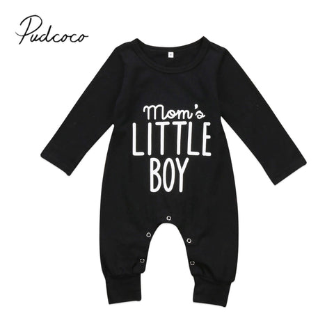 Boys Romper Long Sleeve Jumpsuit 0-24M