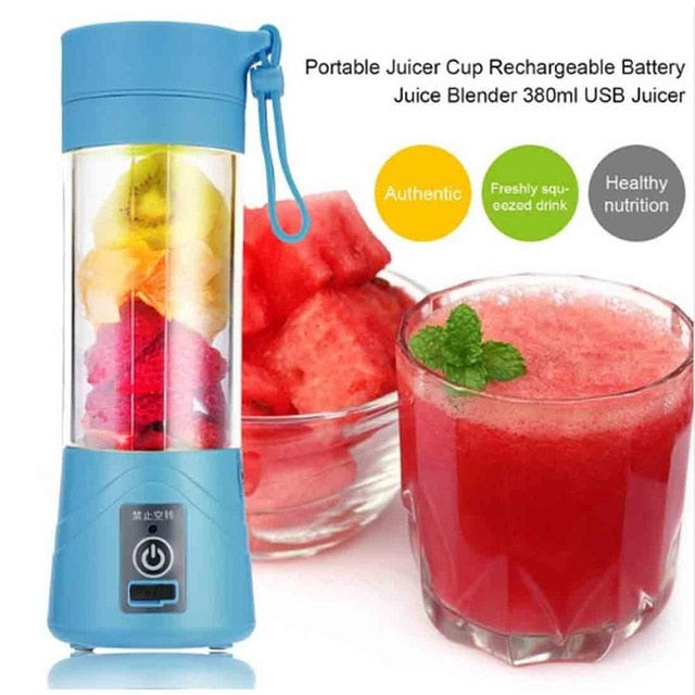 Portable & Mom's On the Go! USB Rechargeable Blender