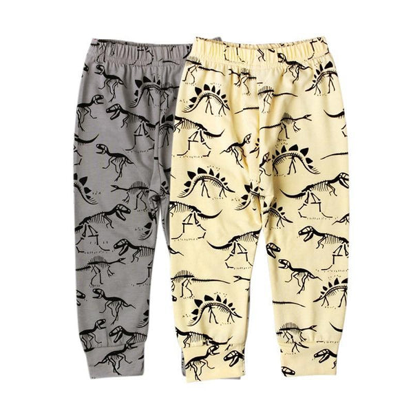 Little Monsters Printed Trousers