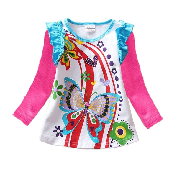 Creative Printed! Girls T-shirts Tops
