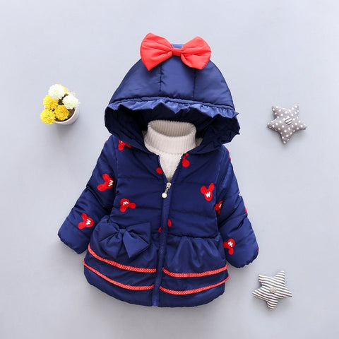 Cozy & Comfortable! Warm Hooded Coat
