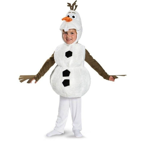 Adorable Child Olaf Halloween Cosplay Costume
