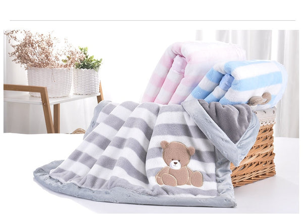 Baby Girl Cartoon Blanket