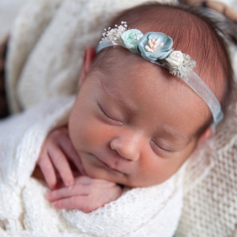 Candy Color Headwrap Baby Headbands