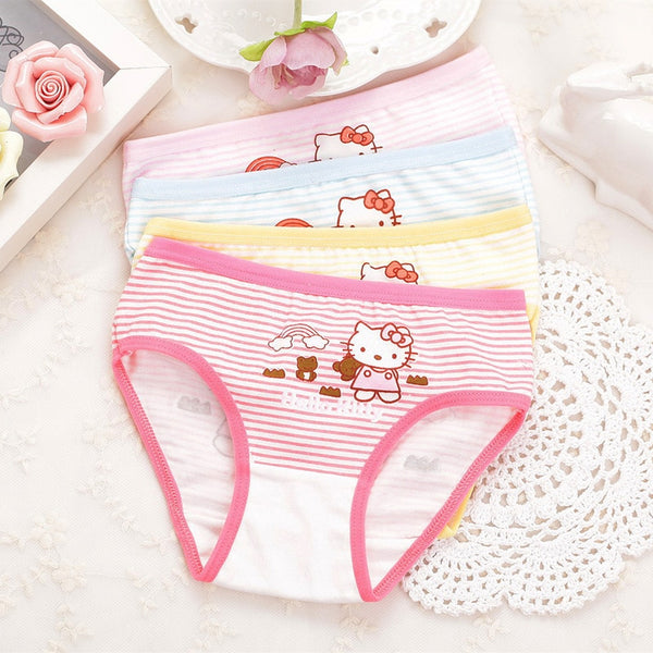Cute Kitty Printed! Cotton Panties Briefs