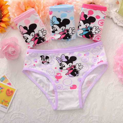 Cute Mickey Printed! Toddlers Briefs Panties