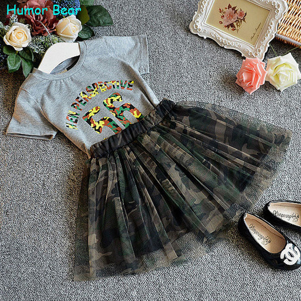 Girl's Stylish Dress with Shirt Clothing Set