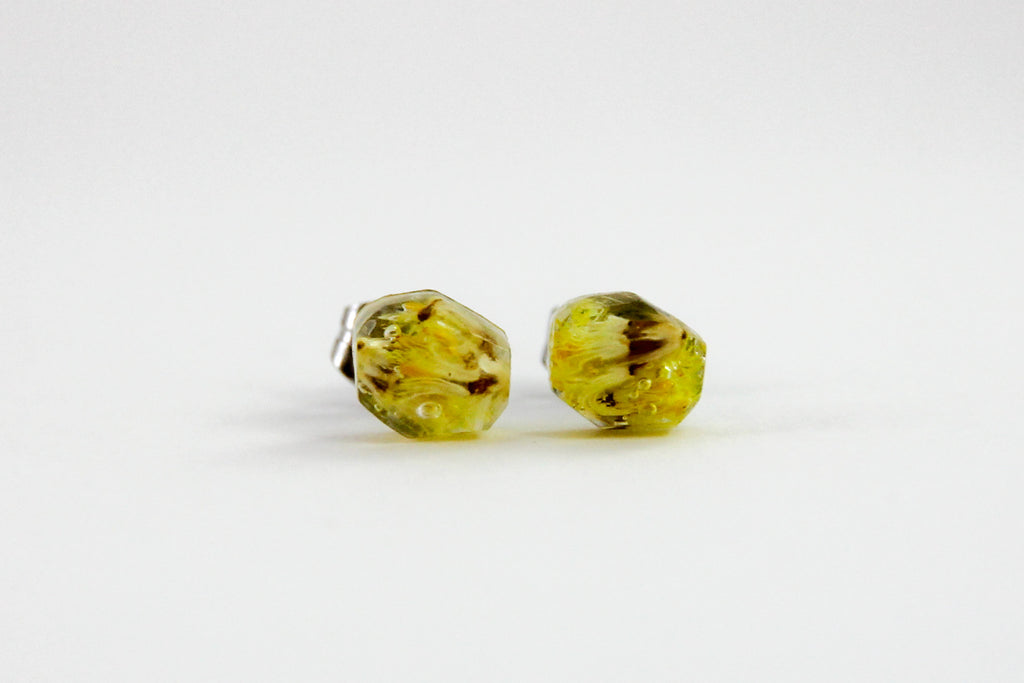 Billy Button Faceted Stud Earrings