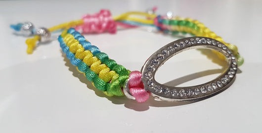 Macrame Bracelet - Multi-Coloured - Livi Lou Handmade Jewellery