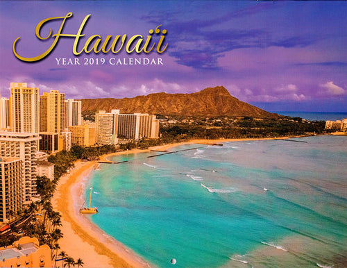 Hawaii Year 2019 Calendar