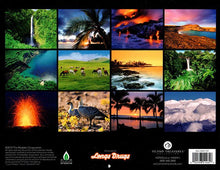 Big Island of Hawaii Year 2020 Calendar