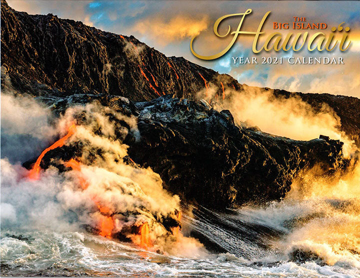 2021 Calendar - Hawaii the Big Island