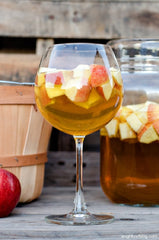 Fall Sangria Glass