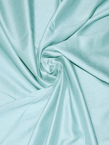 Faux Silk Satin Dupioni Color / Shade Card With 50 Real Fabric Swatches.