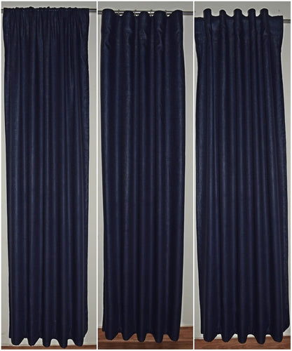 Blue Linen Curtains