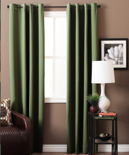 Sage Green Blackout Curtains