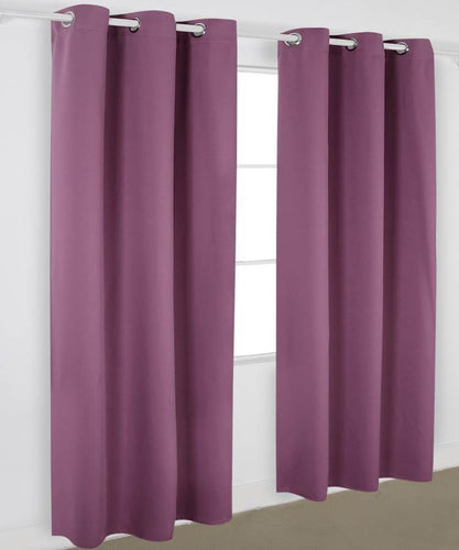 Lavender Blackout Curtains