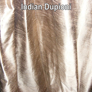 Indian Dupioni Silk