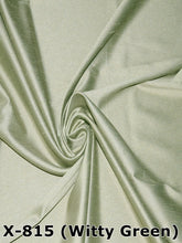 Load image into Gallery viewer, Faux Silk Satin Dupioni Fabric