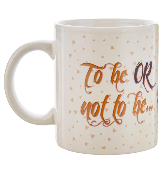 Shakespeare To Be or Not To Be Mug, 11 Ounce