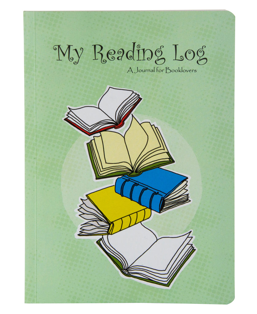 My Reading Log - A Journal for Booklovers (Pack of 2)
