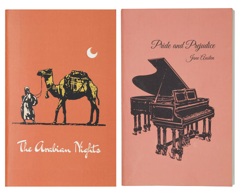Pocket Notebooks set (Pack of 2) - Pride and Prejudice & The Arabian Nights