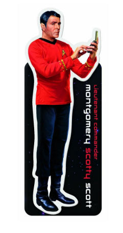 Star trek Bookmark - Lieutenant Scott