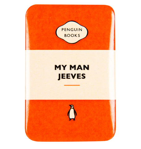 My Man Jeeves Badge