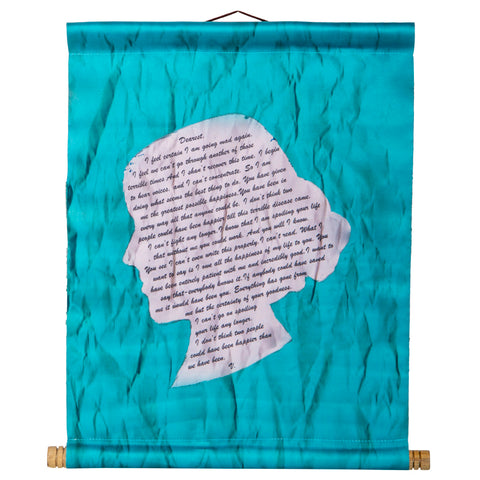 Virginia Woolf Literary Scroll