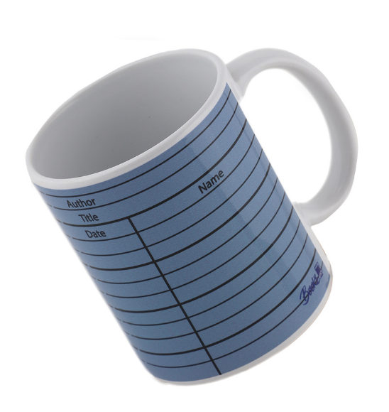Library card (mauve) Mug