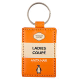 Ladies Coupe Penguin Key Ring