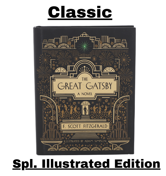 The Great Gatsby by F. Scot Fitzgerald, The Illustrated Edition